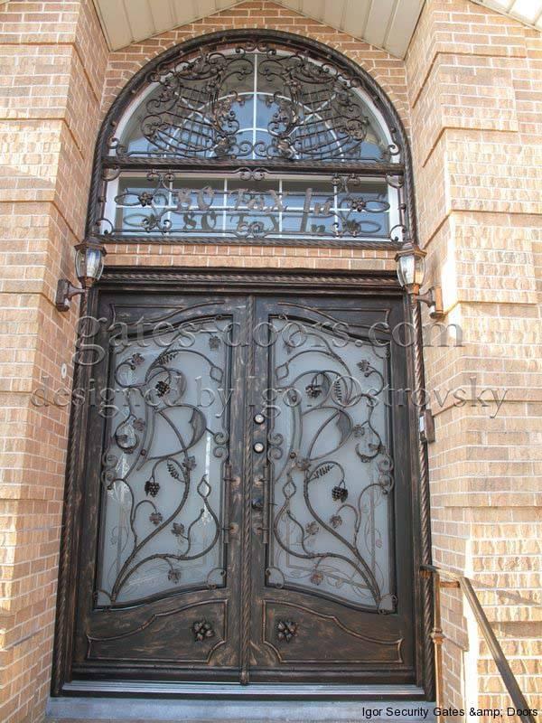 custom wrought iron doors in staten island ny igor security gates u0026 doors