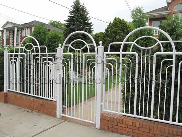 Custom Designed Iron Gates Amp Fences In Brooklyn Ny Igor